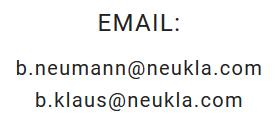 email-neukla
